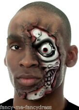 Mens Halloween Terminator Special Effects Make Up Fancy Dress Costume Outfit Set