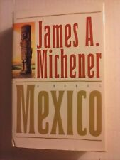 Mexico by James A. Michener 1992 Hardcover 1st Edition Good Condition