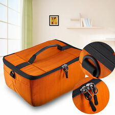 Partition Flexible Folding Padded Camera Lens Insert Bag Dividers Case DSLR SLR