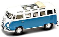 New In Box 1/43 Scale Blue 1962 VOLKSWAGEN VW MICROBUS  for MTH,Lionel & K-Line