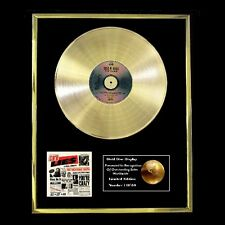 GUNS N ROSES GN'R LIES  CD GOLD DISC RECORD FREE P&P!