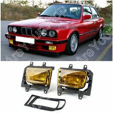 Avant Pare-Choc Feux brouillards Lentille Kit Pour 85-93 BMW E30 3-Series Sedan