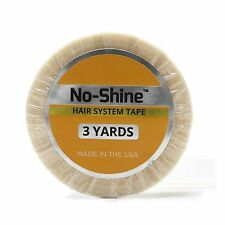 """Walker No Shine 1/2"""" x 3 Yard Roll Tape Hair Extensions, Lace Wig & Toupee"""