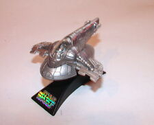Star Wars Titanium die cast UGH Slave 1 Boba Fetts ship   w base clean 1016