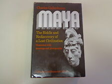 Maya – Riddle and Rediscovery of a Lost Civilization HBDJ Charles Gallenkamp