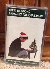 Primarily Christmas By Brett Raymond (1996, Cassette) New In Shrinkwrap