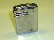 "IMCO (JULIUS FRANZ MEISTER) ""SILBY 4800"" SQUEEZE POCKET LIGHTER - 1938 - AUSTRIA"