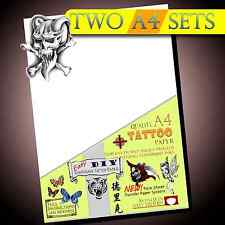 New Temporary Tattoo Transfer Paper - Movie FX - Tattoos Waterproof Inkjet 2set