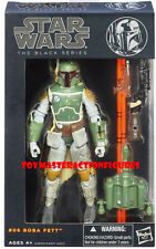 STAR WARS 2013 BLACK SERIES 6 Inch WAVE 2 BOBA FETT  MIMP Sealed Box IN Stock