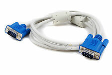 Maxicom White 9Ft 3 Meter VGA MALE CABLE PC / LAPTOP TO TFT / LCD PROJECTOR