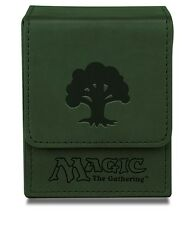ULTRA PRO GREEN MAGNETIC FLIP DECK BOX Mana Symbol MTG Magic the Gathering