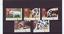 NEW ZEALAND - SG2930-2934 MNH 2007 YEAR OF THE PIG