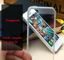 High Quality Clear Transparent Soft TPU Silicone Cover Case For iPhone 5C