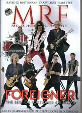 MRF MELODIC ROCK FANZINE N°6 ISSUE 65 /2014 FOREIGNER BAILEY HAREM SCAREM HEARTS
