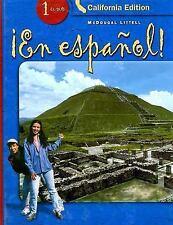 En ESP 1 uno California Edition by Audrey L. Heining-Boynton, Patricia...