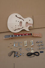 PROJECT ELECTRIC SEMI HOLLOW GUITAR BUILDER KIT DIY WITH ALL ACCESSORIES BY CNC