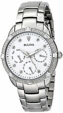 Bulova Women's 96R195 Maribor Diamond Accents Stainless Steel Watch
