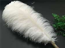 Wholesale, 10-200pcs White/Gray/Gold ostrich feathers 6-20 inches / 15-50 cm