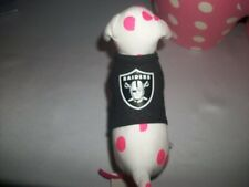 Victorias Secret Pink Oakland Raiders Dog NWT