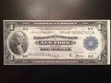 Replica Copy $1 Bill Federal Reserve Bank Note 1918 Washington & Flying Eagle