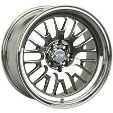 17X8 XXR 531 WHEELS 4X100/114.3 +25MM 73.1 PLATINUM FITS CRESSIDA INTEGRA CIVIC