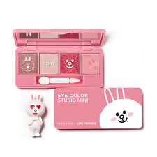 MISSHA LINE FRIENDS Edition EYE COLOR STUDIO MINI #1 Cony Daily Look Free gifts