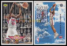 NBA UPPER DECK 1993/94 Derrick Coleman #183 Ita/Eng MICHAEL JORDAN'S FLIGHT TEAM