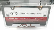 Kia Soul Chrome License Plate Frame UR010-AY105UL OEM 50 State Certified!