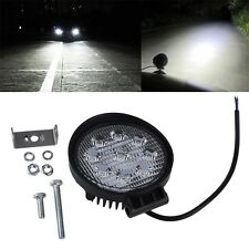 27W 12V 24V Spot Led Work Light Lamp Bar Boat Tractor Truck Off-road SUV SY