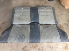 ORIGINAL 69-70 FORD MUSTANG /  MERCURY COUGAR COUPE REAR SEAT