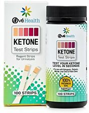 Smackfat Ketone Strips - Perfect for Ketogenic Diet and Diabetics - Precise Keto