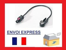 ADAPTATEUR ANTENNE FAKRA MALE ISO PEUGEOT 307 407 Audi BMW Ford Opel Seat VW