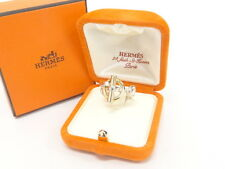 Auth HERMES Ring Chaine d'Ancre Enchainee Free Shipping 32130059900 K17BX