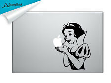 Cute Snow White Mac Decal Laptop Sticker Mac Decals for 13 15 inch ask for 11 17
