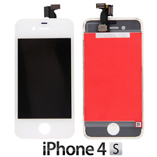 IPHONE 4S LCD SCREEN DISPLAY RETINA TOUCH SCREEN GLASS FRAME WHITE LCD