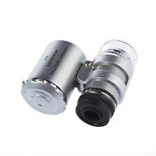 60X Zoom LED Magnifique Microscope magnifie lentille micro pour téléphone