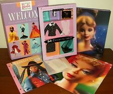 1999 Barbie Collector's Club Welcome Kit w/ NRFB Executive Lunch Fashion #22306