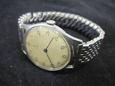 Tudor 33mm Mens Manual Mechanical Wind Watch C.59 Rolex Caliber 59 Round