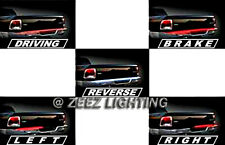 "60""Red LED Tailgate Light Bar Strip Tail-Gate Turn Signal Brake Reverse White#06"