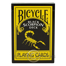 Black Scorpion Deck Bicycle Magic Makers Tricks Magician Gift Trick Card Cards
