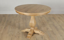 Cavendish Round Oak Dining Table - 100cm