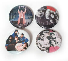 Lot of 4 - 80's Movie - 1.25in Pins Buttons Badges