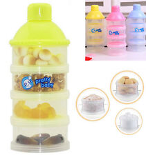 4Layers Baby Milk Powder Containers Milk Powder Dispenser Milk Storage Box