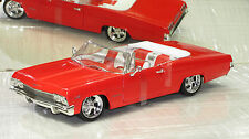 1965 IMPALA CUSTOM CONVERTIBLE RED NEW IN BOX