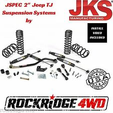 "Jspec 2"" Suspension Lift Kit System for 1997-2006 Jeep Wrangler TJ JKS USA MADE"