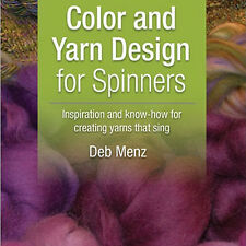 NEW 2 DVD SET: COLOR AND YARN DESIGN FOR SPINNERS Deb Menz