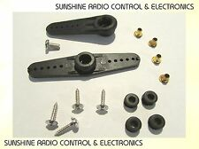 Servo horn set for RC models will fit standard sized servos Futaba Tower Pro (A)