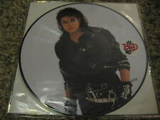 Michael Jackson Record LP Picture Disc Bad 2012 Pop Vinyl NM