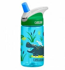 New Camelbak Eddy Kids Water Bottle Hip Hippos 400ml / 12oz Spill Proof Tumbler
