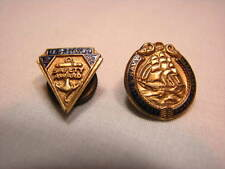 US Department of the Navy Safety Award Lapel Pin USN Naval United States Vintage